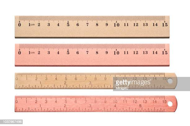 15cm metallic ruler - length stock pictures, royalty-free photos & images