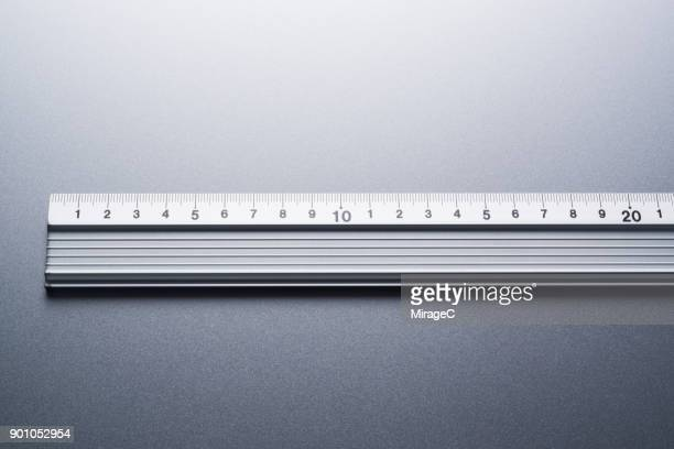Metallic Ruler