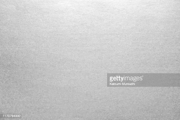 metallic silver background - 銀 ストックフォトと画像