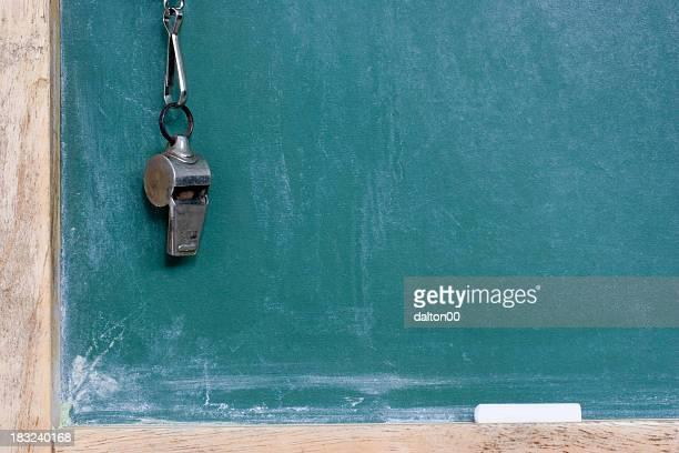 黒板とホイッスル