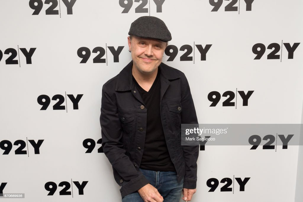 Metallica drummer Lars Ulrich attends the 92nd Street Y Presents Lars Ulrich on November 5, 2017 in New York City.