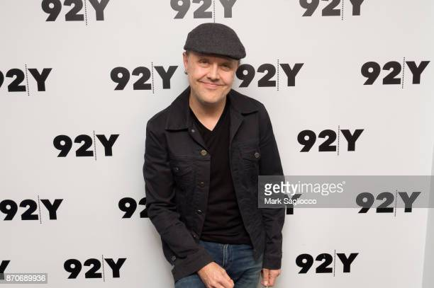 Metallica drummer Lars Ulrich attends the 92nd Street Y Presents Lars Ulrich on November 5 2017 in New York City