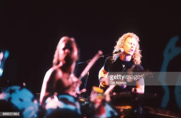 Metallica James Hetfield Lars Ulrich Torhout/Werchter Festival Werchter Belgium