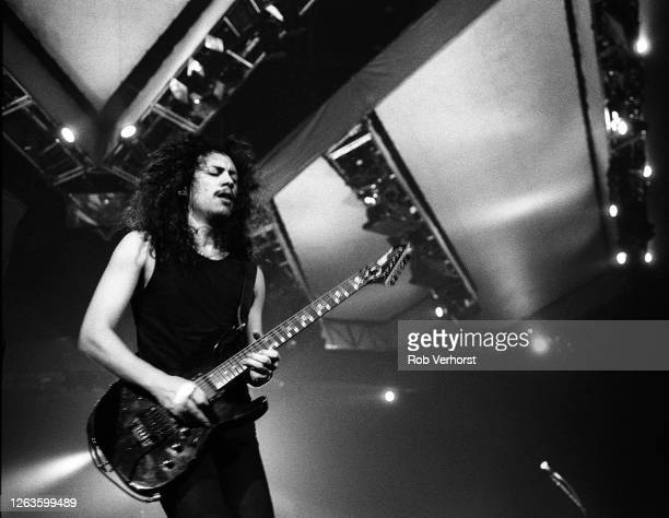 Metallica, Kirk Hammett, Ahoy, Rotterdam, Netherlands, 7th November 1992.