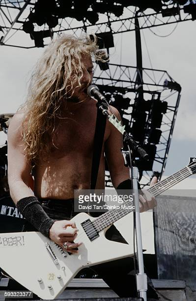 Metallica Monsters of Rock Tour 1988 at Rich Stadium NYC June 19 1988