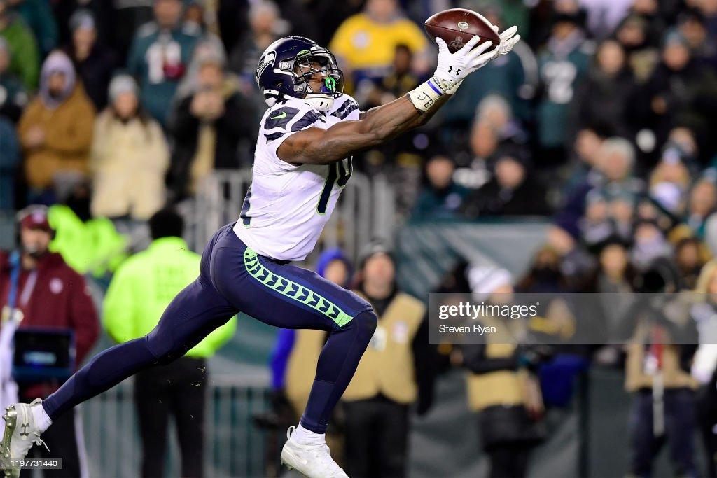 Wild Card Round - Seattle Seahawks v Philadelphia Eagles : ニュース写真