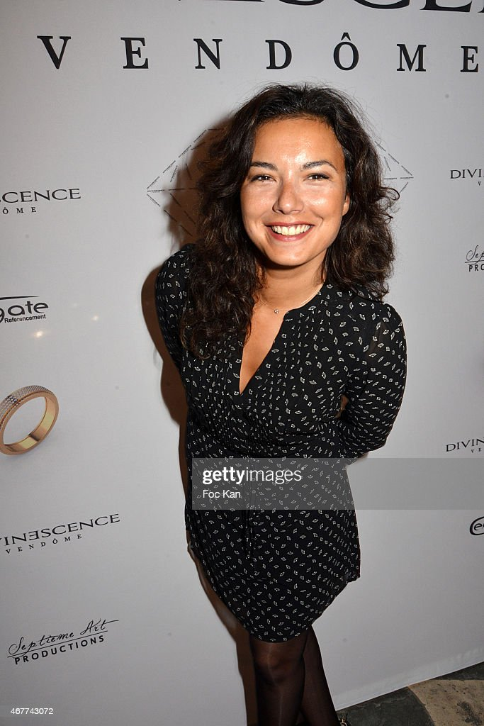 TV meteo presenter Anais Baydemir attends the 'Diamond Night by Divinescence Vendome' - Harumi Klossowska Jewellery Exhibition Preview As Part Of Art Paris Art Fair at the Grand Palais on March 26, 2015 in Paris, France.