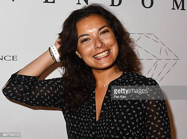 TV meteo presenter Anais Baydemir attends the 'Diamond Night by Divinescence Vendome' Harumi Klossowska Jewellery Exhibition Preview As Part Of Art...