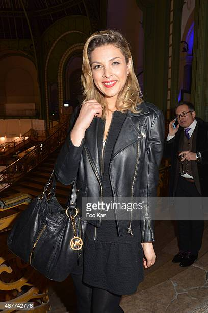TV meteo presenter Eleonore Boccara attends the 'Diamond Night by Divinescence Vendome' Harumi Klossowska Jewellery Exhibition Preview As Part Of Art...
