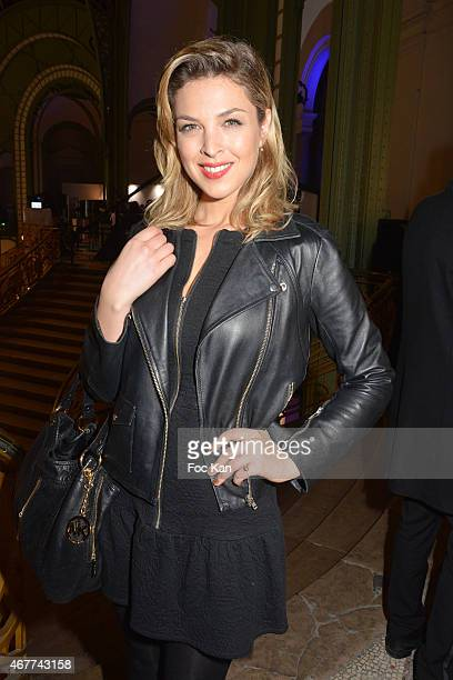 TV meteo presenter Eleonore Boccara attends the 'Diamond Night by Divinescence Vendome' Harumi Klossowska Jewellery Exhibition Preview As Part Of Art...