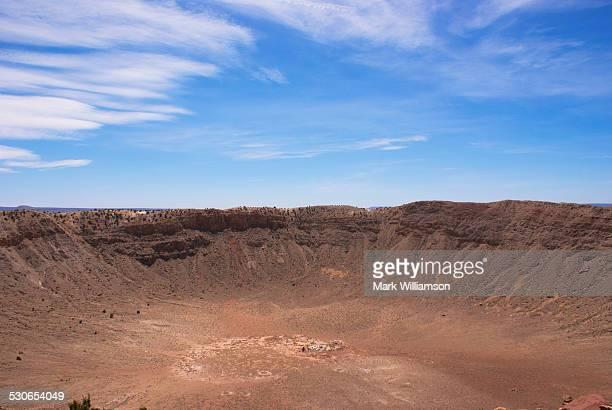 Meteor Crater, Arizona.