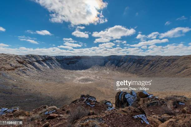 meteor crater - meteor crater stock pictures, royalty-free photos & images