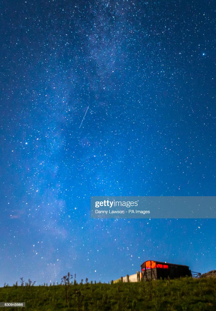 Perseid meteor shower : News Photo
