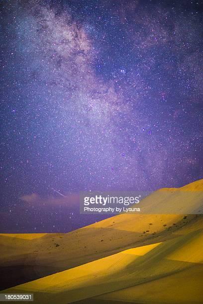 Meteor meet desert