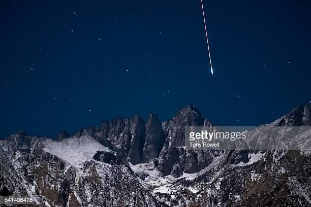Meteor Over Mt. Whitney