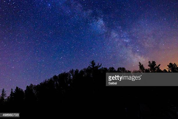 Meteor Shower at Jay Cooke State Park