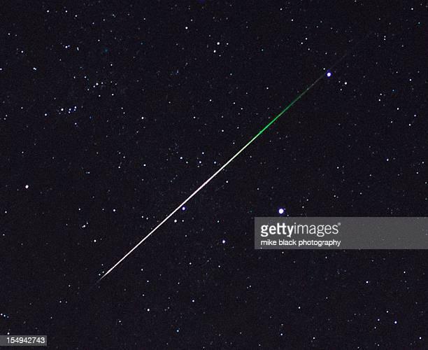 Meteor Stars Green Detail