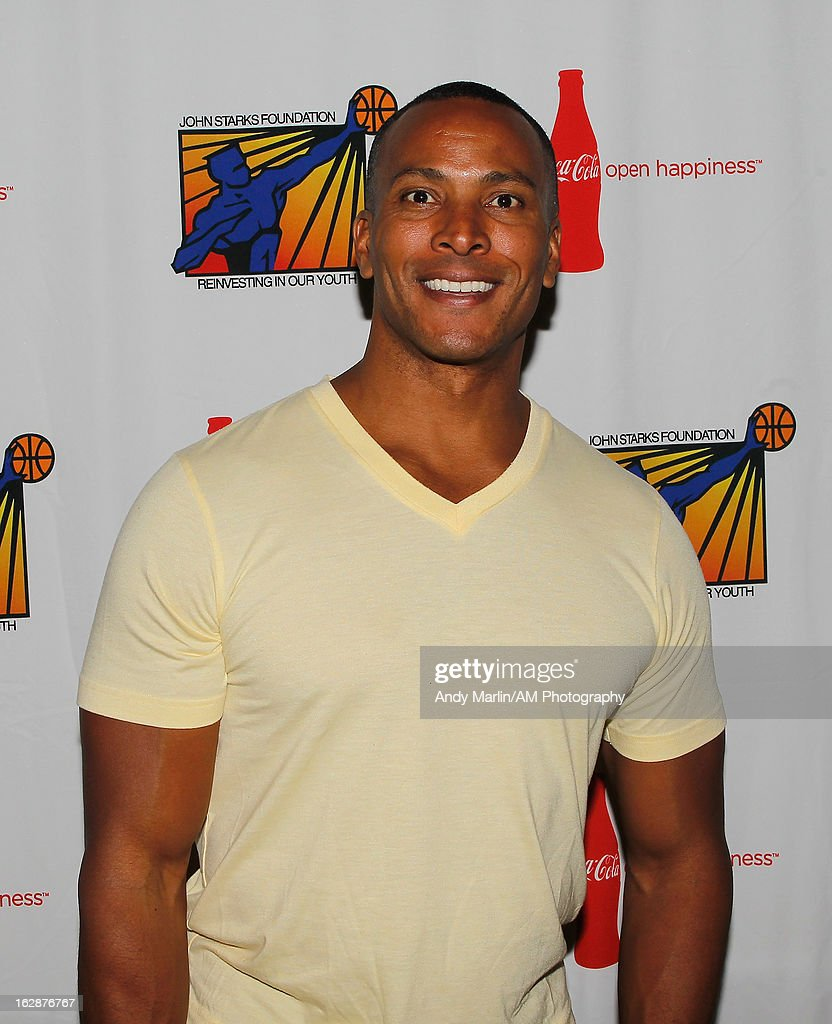 Meteoroligist for Fox 5 NY Mike Woods poses for a photo during the John Starks Foundation Celebrity Bowling Tournament on February 25, 2013 in New York City.