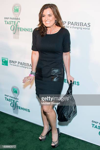 Meteorologist Amy Freeze attends the 13th annual BNP Paribas Taste of Tennis at the W New York Hotel on August 23 2012 in New York City