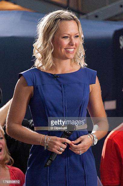 Meteorologist Dylan Dreyer attends NBC's TODAY Show on September 2 2013 in New York City