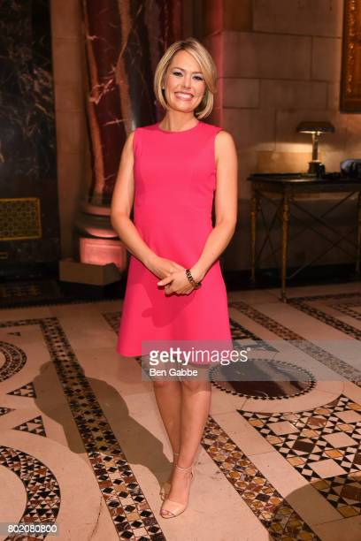 Meteorologist Dylan Dreyer attends the 42nd Annual Gracie Awards Luncheon at Cipriani 42nd Street on June 27 2017 in New York City