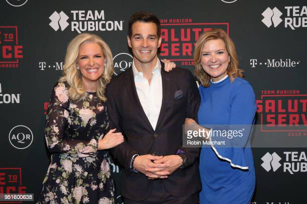 Meteorologist for Fox Networks Janice Dean Journalist on ABC News Good Morning America and World News Tonight Rob Marciano and CNN Chief Business...