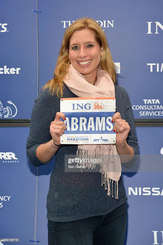 2012 ING New York City Marathon Celebrity Runners Photo Call : News Photo