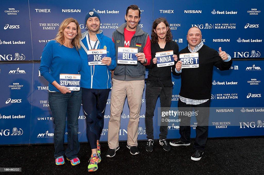 2013 ING NYC Marathon Press Conference : Fotografía de noticias