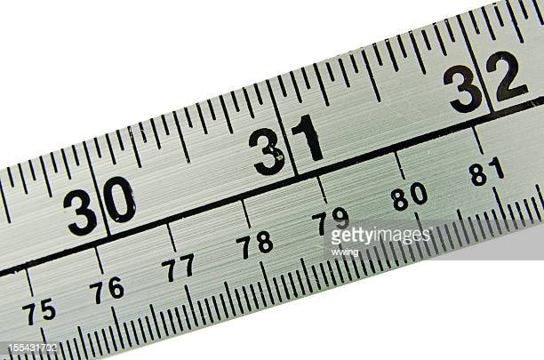 Meter and Yard Stick  Close-up