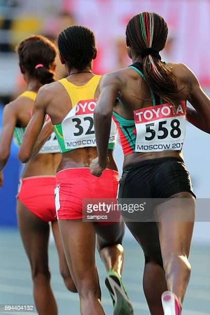 Meter Final women Merseret Defar Amalz Ayana Mercy Cherondno Leichtathletik WM Weltmeisterschaft Moskau 2013 IAAF World Championships athletics...