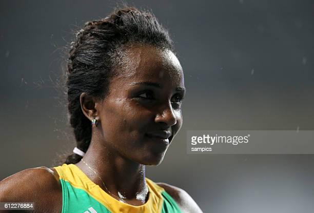 Meter metr Final women siegerin world CHampion Tirunesh Dibara ETH Leichtathletik WM Weltmeisterschaft Moskau 2013 IAAF World Championships athletics...