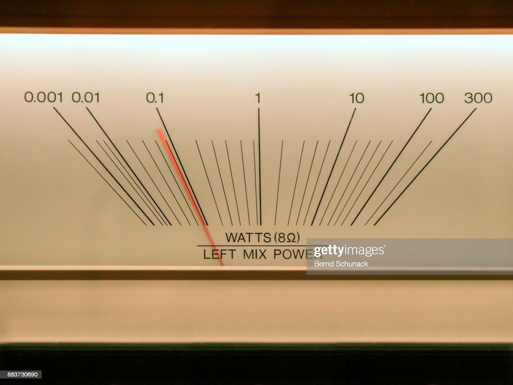 VU Meter : ストックフォト