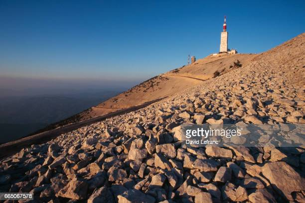 Meterological observatory located at the summit of Mont Ventoux in the Vaucluse department of France