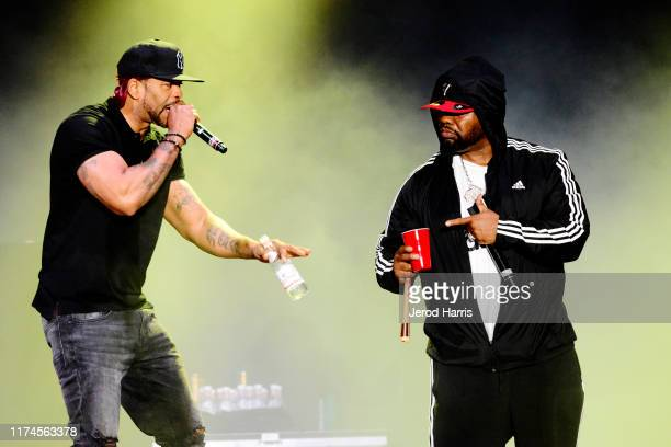 Method Man and Ghostface Killah perform at Kaaboo 2019 at the Del Mar Race Track on September 13 2019 in Del Mar California