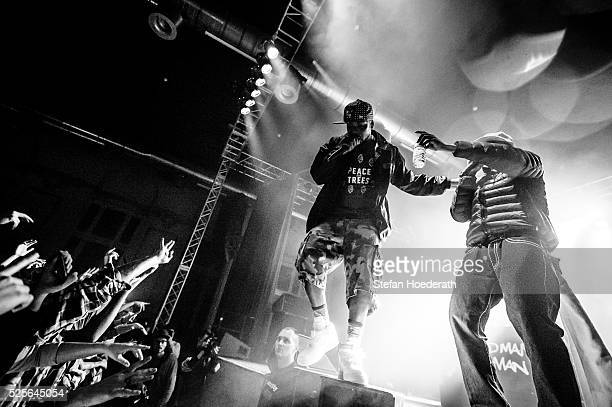 Method Man and Redman of Method Man Redman perform live on stage during a concert at Huxleys Neue Welt on April 28 2016 in Berlin Berlin