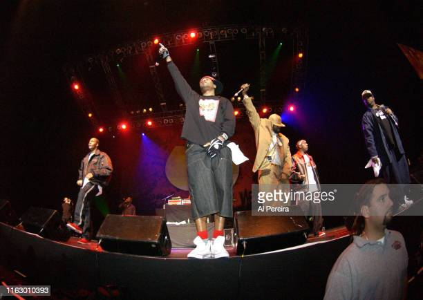 Method Man and the Rap Group The Wu-Tang Clan perform at the Brendan Byrne Arena on November 12, 2004 in East Rutherford, New Jersey.