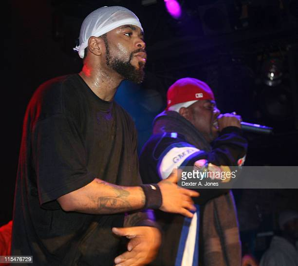 Method Man and WuTang Clan perform live at Toad's Place on January 13 2008 in New Haven Connecticut