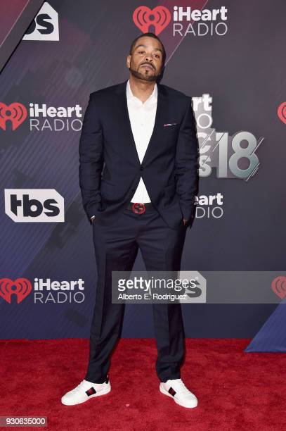 Method Man arrives at the 2018 iHeartRadio Music Awards which broadcasted live on TBS TNT and truTV at The Forum on March 11 2018 in Inglewood...