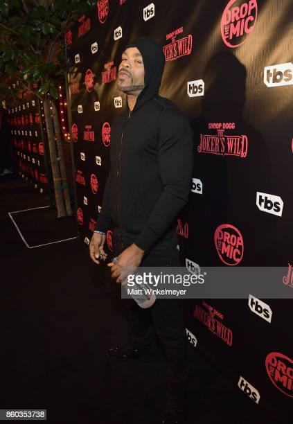 Method Man at TBS' Drop the Mic and The Joker's Wild Premiere Party at Dream Hotel on October 11 2017 in Hollywood California Shoot ID 26854_010