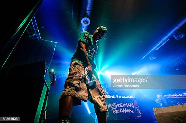 Method Man of Method Man Redman performs live on stage during a concert at Huxleys Neue Welt on April 28 2016 in Berlin Berlin
