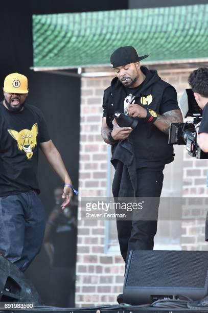 Method Man of the group WuTang Clan performs onstage during the 2017 Governors Ball Music Festival Day 2 at Randall's Island on June 3 2017 in New...