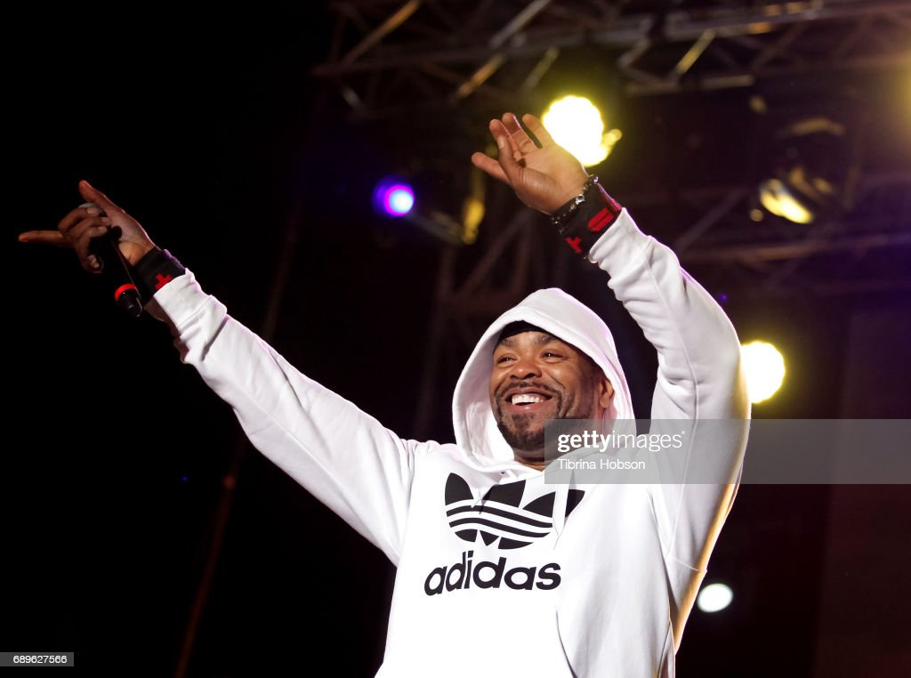 Method Man of Wu-Tang Clan performs at the 1st annual Ship Show Music Festival on May 27, 2017 in Alameda, California.