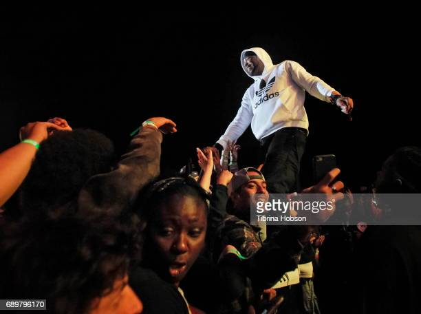 Method Man of WuTang Clan performs at the 1st annual Ship Show Music Festival on May 27 2017 in Alameda California