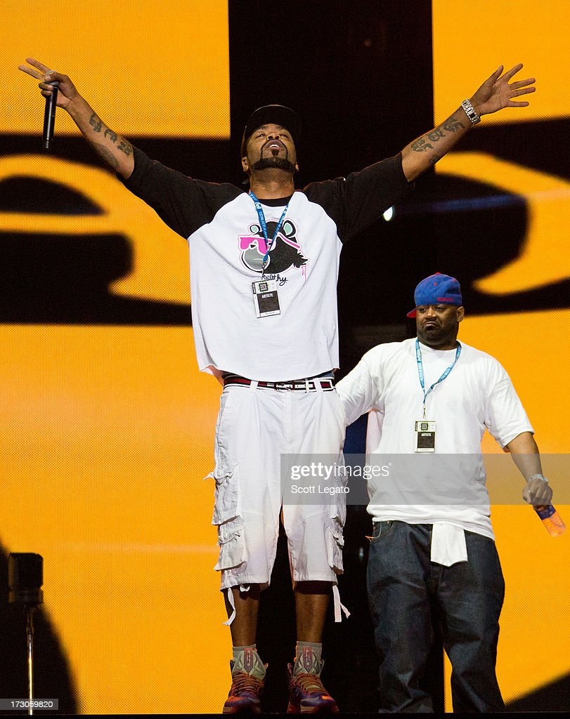 Method Man of Wu-Tang Clan performs during the Quebec Festival D'ete on July 5, 2013 in Quebec City, Canada.