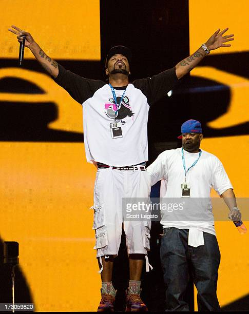 Method Man of WuTang Clan performs during the Quebec Festival D'ete on July 5 2013 in Quebec City Canada