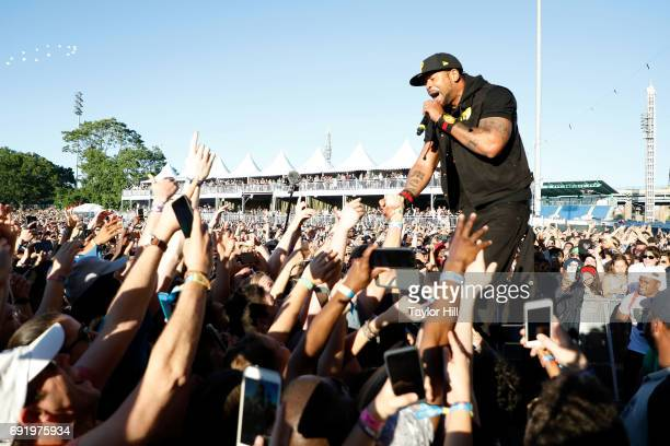Method Man of WuTang Clan performs live onstage during 2017 Governors Ball Music Festival Day 2 at Randall's Island on June 3 2017 in New York City