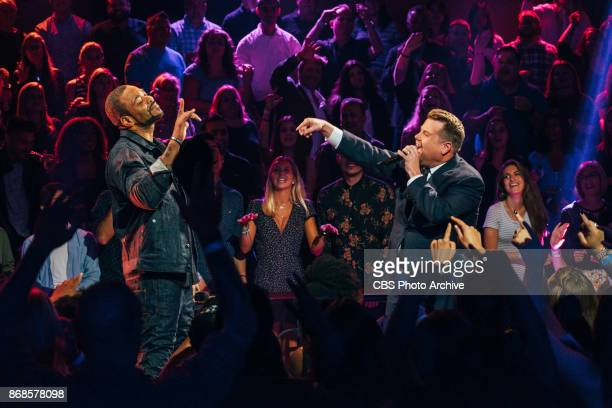 Method Man performs in Drop The Mic with James Corden during The Late Late Show with James Corden Monday October 30 2017 On The CBS Television Network