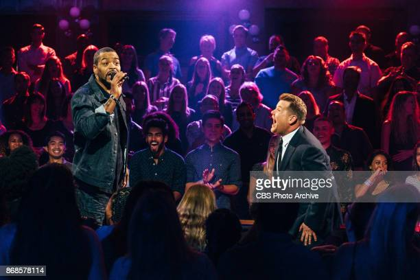 Method Man performs in Drop The Mic with James Corden during 'The Late Late Show with James Corden' Monday October 30 2017 On The CBS Television...