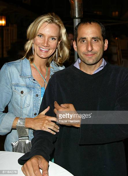 Method Red stars Beth Littleford and Peter Jacobson attend Twentieth Century Fox Television's New Season Party at Shutters on the Beach August 12...