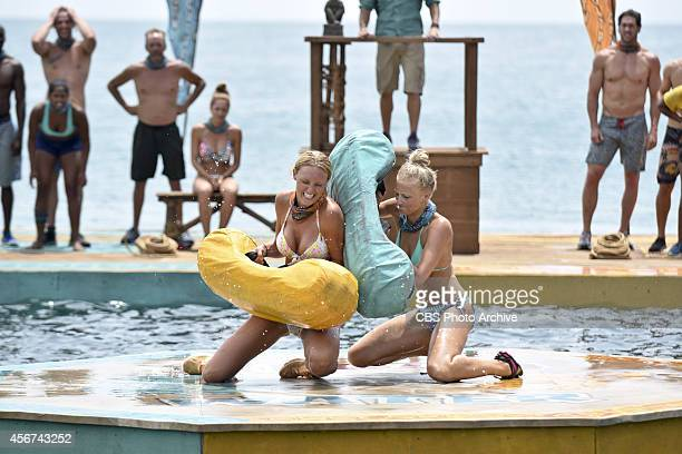Method To This Madness Jaclyn Schultz and Kelley Wentworth during the second episode of Survivor 29 Wednesday Oct 1 on the CBS Television Network